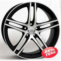 Купить WSP ITALY PAUL W556 DULL BLACK POLISHED R19 W8.5 PCD5x112 ET35 DIA57.1