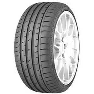 Купить Летняя шина CONTINENTAL ContiSportContact 3 225/50R17 94Y