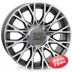 WSP ITALY Grace W162 Anthracite Polished - Интернет-магазин шин и дисков с доставкой по Украине GreenShina.com.ua