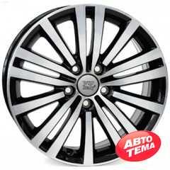 WSP ITALY Altair W462 Glossy Black Polished - Интернет-магазин шин и дисков с доставкой по Украине GreenShina.com.ua