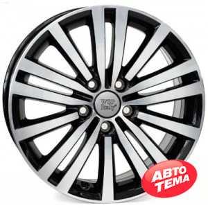 Купить WSP ITALY Altair W462 Glossy Black Polished R17 W7.5 PCD5x112 ET47 DIA57.1