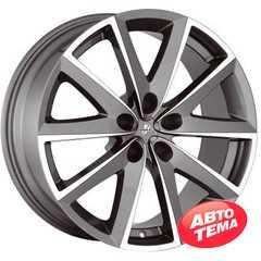 Купить FONDMETAL 7600 Titanium Polished R17 W7.5 PCD5x114.3 ET48 DIA64.1