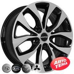 Купить REPLICA Hyundai ZY 659 BP R16 W6.5 PCD5x114.3 ET35 DIA67.1