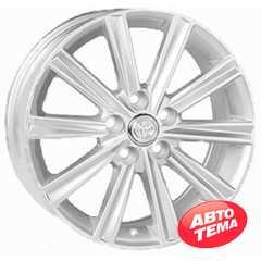 REPLICA Toyota JT1377 Silver - Интернет-магазин шин и дисков с доставкой по Украине GreenShina.com.ua