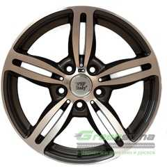 Купить WSP Italy Agropoli BM52 W652 Anthracie Polished R18 W8 PCD5x120 ET15 DIA74.1
