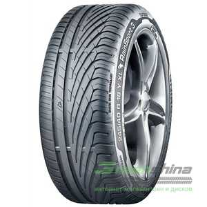 Купить Летняя шина UNIROYAL Rainsport 3 225/55R17 101Y