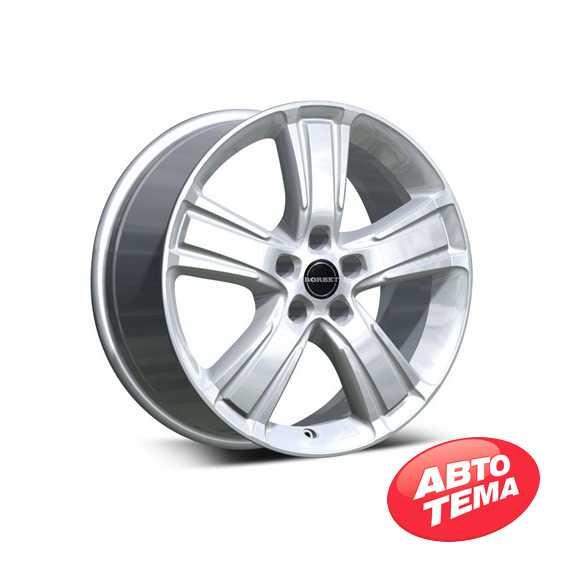 BORBET MA Brilliant Silver - Интернет-магазин шин и дисков с доставкой по Украине GreenShina.com.ua