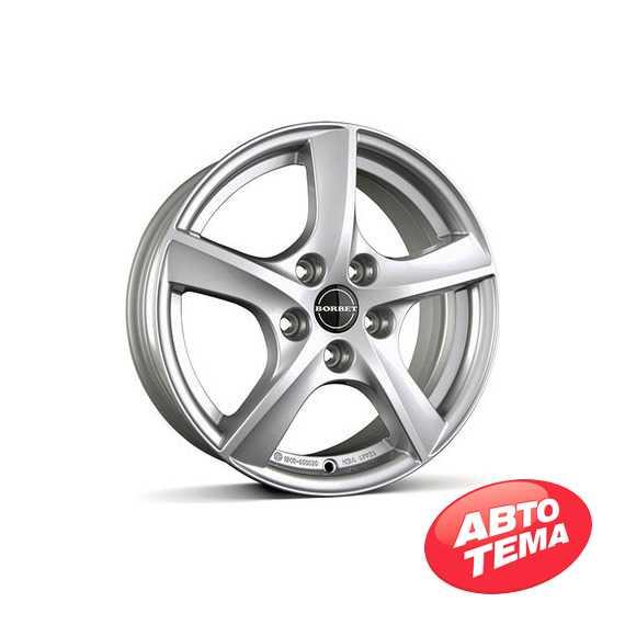 BORBET TL2 Brilliant Silver - Интернет-магазин шин и дисков с доставкой по Украине GreenShina.com.ua