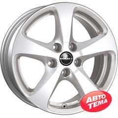 BORBET CC Crystal Silver - Интернет-магазин шин и дисков с доставкой по Украине GreenShina.com.ua