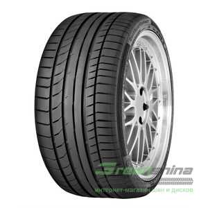 Купить Летняя шина CONTINENTAL ContiSportContact 5P 295/30R19 100Y