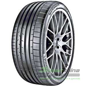 Купить Летняя шина CONTINENTAL ContiSportContact 6 275/35 R20 102Y