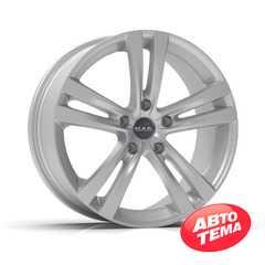 Купить Легковой диск MAK Zenith Hyper Silver R15 W6.5 PCD5x105 ET39 DIA56.6