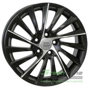 Купить WSP ITALY Giulietta W256 DULL BLACK POLISHED R17 W7.5 PCD5x110 ET41 HUB65.1