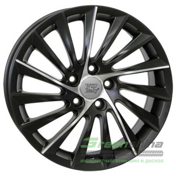 WSP ITALY Giulietta W256 DULL BLACK POLISHED - Интернет-магазин шин и дисков с доставкой по Украине GreenShina.com.ua
