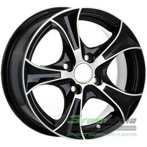 Купить ANGEL Luxury 306 BD R13 W5.5 PCD4x100 ET30 HUB67.1
