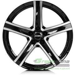 Купить RIAL QUINTO Diamond Black Front Polished R20 W9.5 PCD5x150 ET52 DIA110.1