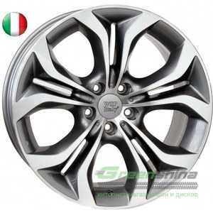 Купить WSP ITALY AURA W674 ANTHRACITE POLISHED R19 W10 PCD5x120 ET21 DIA74.1