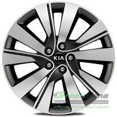 Купить Легковой диск REPLICA LegeArtis KI527 BKF R18 W7 PCD5x114.3 ET48 DIA67.1