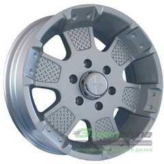 Купить Легковой диск MKW MK-41 Silver R17 W8 PCD6x139.7 ET12 DIA106.1