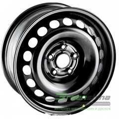Купить Легковой диск STEEL TREBL X40019 BLACK R17 W7 PCD5x100 ET48 DIA56.1