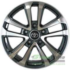 Легковой диск REPLICA TY1007 GMF - Интернет-магазин шин и дисков с доставкой по Украине GreenShina.com.ua