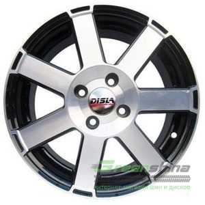 Купить DISLA HORNET 601 BD R16 W7 PCD5x100 ET38 DIA57.1