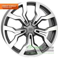 Купить WSP ITALY AUDI MEDEA AU12 MATT GUN METAL POLISHED W565 R20 W9 PCD5x112 ET29 DIA66.6