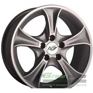 Купить Легковой диск ANGEL Luxury 506 SD R15 W6.5 PCD4x100 ET35 DIA67.1