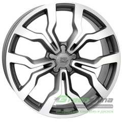 Купить Легковой диск WSP ITALY MEDEA W565 DULL BLACK ​FULL POLISHED R18 W7.5 PCD5x112 ET51 DIA57.1
