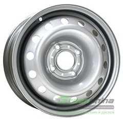 Легковой диск STEEL TREBL 53A43C Silver - Интернет-магазин шин и дисков с доставкой по Украине GreenShina.com.ua