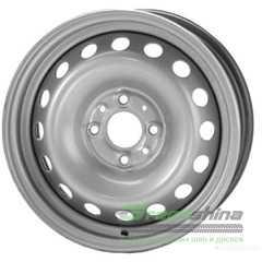 Легковой диск STEEL TREBL 64A45R Silver - Интернет-магазин шин и дисков с доставкой по Украине GreenShina.com.ua