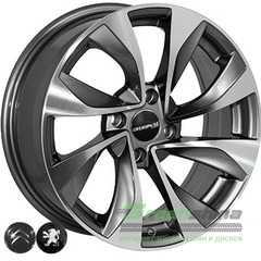 Купить Легковой диск REPLICA CITROEN 5070 GMF R16 W6.5 PCD4x108 ET17 DIA65.1