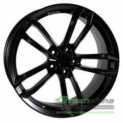 Легковой диск PDW DBT Flat Black With Milling - Интернет-магазин шин и дисков с доставкой по Украине GreenShina.com.ua