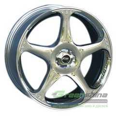 Купить Легковой диск FJB F-203 Chrome R17 W7 PCD10x112/114.3 ET35 DIA73.1
