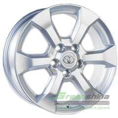 Купить Легковой диск REPLICA GT 61093 Silver R17 W7 PCD5x114.3 ET45 DIA60.1