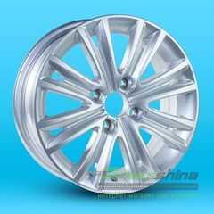 Легковой диск REPLICA 80103 Silver - Интернет-магазин шин и дисков с доставкой по Украине GreenShina.com.ua