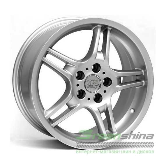 Легковой диск WSP ITALY Sofia W650 Silver - Интернет-магазин шин и дисков с доставкой по Украине GreenShina.com.ua