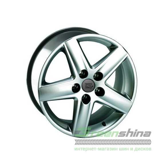 Легковой диск WSP ITALY POSITANO W530 SILVER - Интернет-магазин шин и дисков с доставкой по Украине GreenShina.com.ua