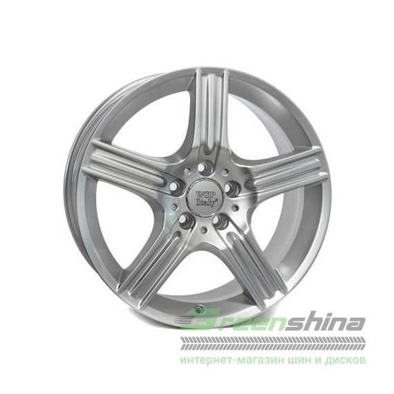 Легковой диск WSP ITALY DIONE W763 SILVER - Интернет-магазин шин и дисков с доставкой по Украине GreenShina.com.ua