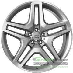 Купить WSP ITALY ISCHIA W774 SILVER POLISHED R20 W9 PCD5x112 ET57 DIA66.6
