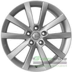 Купить Легковой диск WSP ITALY BELGOROD W3503 SILVER R17 W7 PCD5x112 ET49 DIA57.1