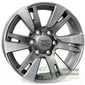 Купить WSP ITALY VENERE TO65 W1765 ANTHRACITE POLISHED R22 W10 PCD6x139.7 ET20 DIA106.1