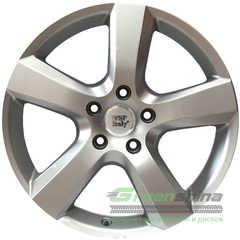 Легковой диск WSP ITALY DHAKA W451 SILVER - Интернет-магазин шин и дисков с доставкой по Украине GreenShina.com.ua