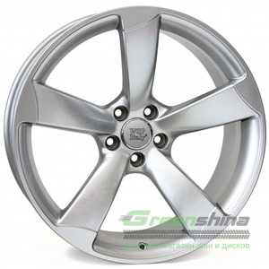 Купить WSP ITALY GIASONE W567 HYPER SILVER R17 W8 PCD5x112 ET30 DIA66.6
