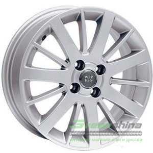 Купить WSP ITALY CALABRIA W153 (SILVER - Серебро) R14 W5.5 PCD4x100 ET45 DIA56.1