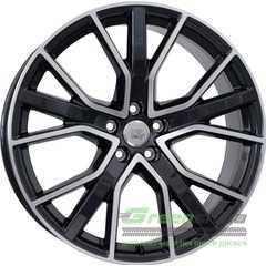 Купить Легковой диск WSP ITALY W571 ALICUDI GLOSSY BLACK POLISHED R21 W8.5 PCD5x112 ET30 DIA66.6