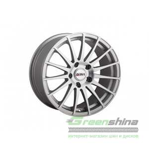 Купить DISLA TURISMO 720 S R17 W7.5 PCD5x108 ET45 DIA63.4