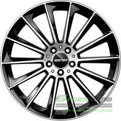Легковой диск GMP Italia STELLAR Black Diamond - Интернет-магазин шин и дисков с доставкой по Украине GreenShina.com.ua