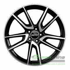 Купить Легковой диск GMP Italia HUNTER Black Diamond R19 W9.5 PCD5x112 ET35 DIA66.6