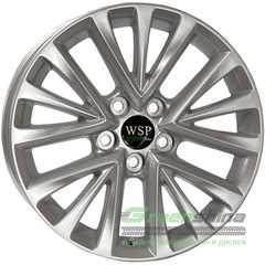 Купить WSP ITALY GREEN line G3902 (SILVER) R17 W7 PCD5x114.3 ET45 DIA67.1